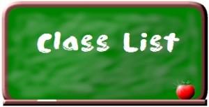 Class List Clip Art
